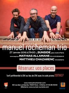concert sunside jazz club trio jazz